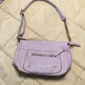 Gray kimchi blue Crossbody purse.
